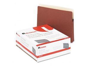 1 3/4 Inch Expanding File Pockets Straight Tab Letter Redrope/Manila 25/Box