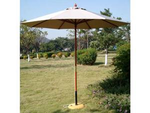 International Concepts 49147 Market Umbrella - 9 ft. - Wooden Pole