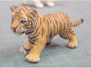 Papo 50021 Wild Animal Tiger CUB Figure