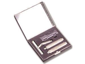 Ruda Overseas 221 Metal Travel Shaving Set