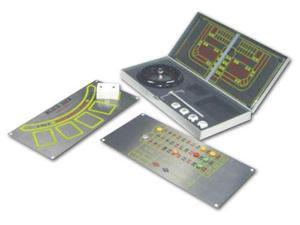 Ruda Overseas 268 Metal 3-1 Game Roulette Set