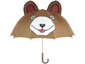 Kidorable brown bear umbrellas 100% Nylon Children'S Bear Umbrellas - Brown
