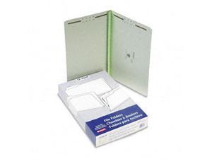 Esselte Pendaflex 17185 Pressboard Folders with two 2   Cap Fasteners  Legal  Green  25/box