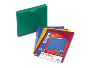 Esselte Pendaflex 50990 Expanding File Jackets  Ltr  Poly  BL/GR/Purple/Red/YW  10/pk