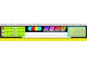 Trend Enterprises T-69403 Reference Size Name Plates Gr 3-5- Zaner-Bloser Desk Toppers