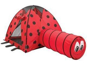 Pacific Play Tents LadyBug Tent/Tunnel Combination