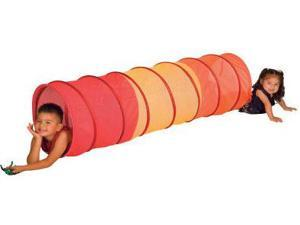 Pacific Play Tents 20810 6 ft. Red See Through Institutional Tunnel