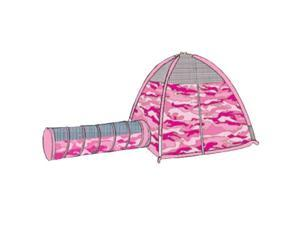 Pacific Play Tents 30470 Pink Camo Tent and Tunnel Set