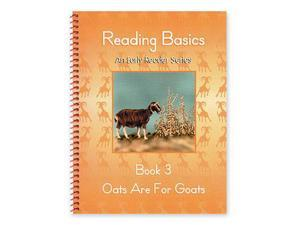 Alpha Omega Publications LAN 0133 Reading Basics Book 3, Oats Are For Goats