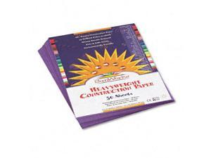Pacon 7203 SunWorks Construction Paper  Heavyweight  9 x 12  Violet  50 Sheets