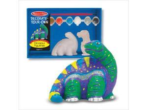 Melissa and Doug Decorate-Your-Own Dinosaur Figurines Kit