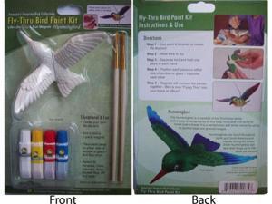 Clark Collection CC52075 Hummingbird Fly Thru Bird Paint Kit