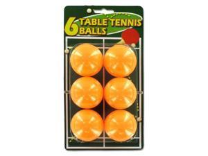 Set of six table tennis balls - Pack of 48