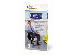 Jobst 110791 Mens Dress 8-15 mmHg Closed Toe Knee Highs - Size & Color- Brown X-Large