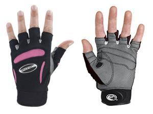 Bionic Glove FGWXLP Women's Fitness Pink-gray Pair- X-large