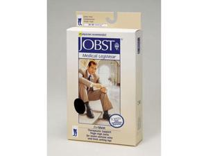 Jobst 115406 Mens 30-40 mmHg Closed Toe Thigh Highs - Size & Color- Khaki Large