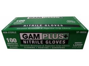 Gam Paint Brushes 100 Pack Nitrile Gloves  SP98856