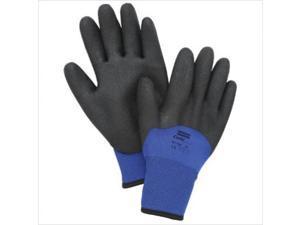 North Safety 068-NF11HD/9L Northflex Blue Nylon-Foam Pvc Glove 9L