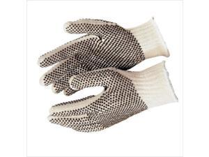 String Knits Gloves 7 Gauge 2-side PVC Dots Cotton/Poly WE