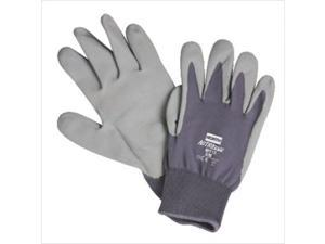 North Safety 068-NFF13/9L Nitritask Foam Glove Grey Nylon Seamless Liner