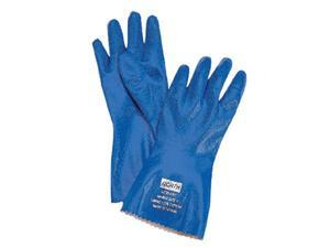 North Safety 068-NK803/10 Nitri-Knit Glove Dippednitrile-Interlock Knitte
