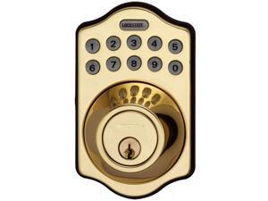 LockState LS-DB500-PB LockState Electronic Keypad Deadbolt