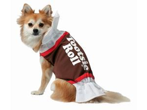 Rasta 4003-S Tootsie Roll Dog Costume - Small