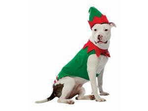 "Rasta 5028-L 16"" x 14"" x 19"" Large Elf Dog Costume"