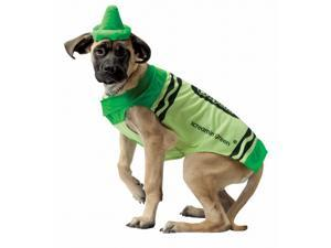 Rasta 4530-XL CRY Green Dog Costume - X-Large