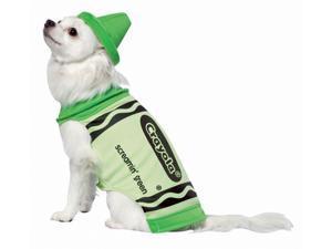 Rasta 4530-XS CRY Green Dog Costume - X-Small