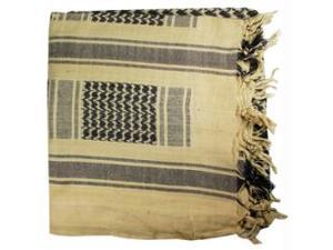 Proforce Shemagh Scarf Sand and Black