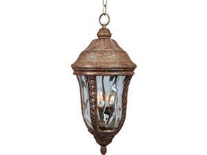 Maxim Lighting 40210WGET Whittier VX 3-Light Outdoor Hanging Lantern - Earth Tone
