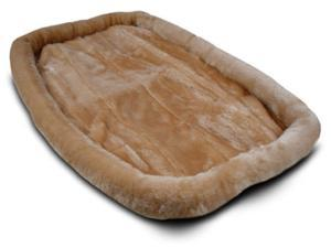 Majestic Pet 788995032366 36 in. Medium Crate Pet Bed Mat Honey