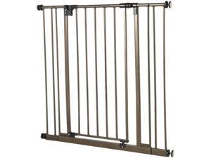 North States Extra Tall Deluxe Easy-Close Wall Mounted Gate- NS4993S