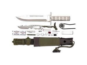 Maxam SKJSK 12 pieces Survival Knife Set