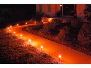JH Specialties 61210 10- Count Pathway Lights- Orange