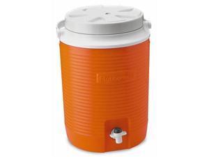 Rubbermaid 2 Gallon Orange Victory Thermal Jug Water Coolers  FG15300411