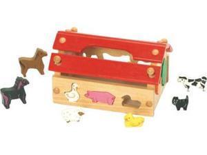 CHH 961143 Wooden Animal House - Sort Shaper