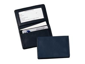 Royce Leather Executive Card Case, Blue - 405-BLUE-5