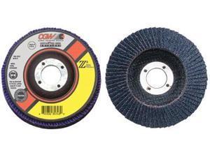 CGW Abrasives 421-42755 7 Inchx5-8-11 Z3-80 T27 Xl100 Pct. Za Flap Disc