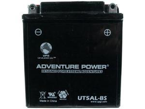 Universal Power UT5AL-BS Dry Charge AGM 12 Volt Battery