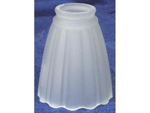 Westinghouse Lighting 2-.25in. Frosted Pleated Fan & Fixture Glass 81097 - Pack of 6