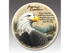 American Expediton CTST-103 Bald Eagle Stone Coaster Set