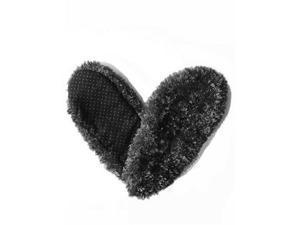 Red Carpet Studios 60008 Fuzzy Footies - Ladies - Black