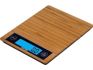 TAYLOR 1052BM Bamboo Kitchen Scale with to uch Control Buttons