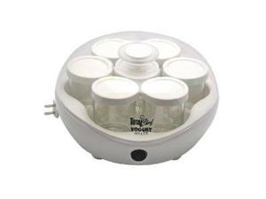 Koolatron TCYM-07 Yogurt Maker 7 Jars - 5-Ounces Each - White