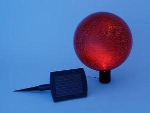 Achla G10-RD-F Gazing Ball 10 in. Red Frosted