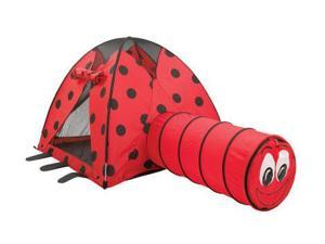 Pacific Play Tents 20420 LadyBug and Tunnel Combination