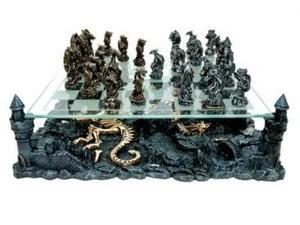 CHH 2127C 3D Chess Set - Dragon