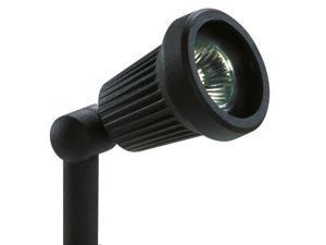 Northern International 20 Watt 12 Volt Black Spotlight  GL22724BK